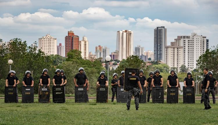 Policiais do Baeps de Ribeirão Preto e Piracicaba iniciam nova etapa de treinamento - PortalR3